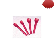 Maroon Spoons - Small, 2.5cm bowl - Pack of 10