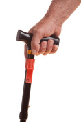 Walking Cane and Walking Stick Clipsonit the Walking Cane Holder Elegant Marble Like Fire RED