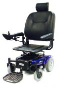 "Medalist Rear Wheel Drive Power Wheelchair - 18"" Pan Seat, Midnight Blue"