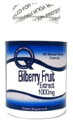 Bilberry Fruit Extract 1000mg 100 Capsules ^GLS