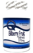 Bilberry Fruit Extract 375mg 100 Capsules ^GLS