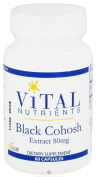 Vital Nutrients Black Cohosh Extract 2.5% 80mg 60 Capsules