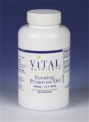 Vital Nutrients - Evening Primrose Oil with GLA 500 mg.