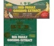 Royal King - Red Panax Ginseng Extract Oral Liquid, Assorted Flavoured, Extra-Strength 6000mg,