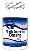 North American Ginseng 200mg 100 Capsules ^GLS