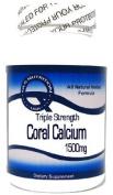 Triple Strength 1500mg Coral Calcium 120 Capsules ^GLS