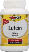 Vitacost Lutein 20 mg with Zeaxanthin Featuring Lutemax -- 240 Softgels
