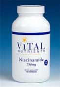 Vital Nutrients Niacinamide 750mg 120 Capsules