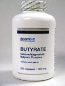 BodyBio/E-Lyte Butyrate 600 mg 250 caps