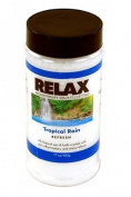 Tropical Rain Aromatherapy Bath Crystals -17 Oz- Natural Dead Sea Salts & Vitamins - Aroma Therapy For Hot Tubs, Spas & Jacuzzi