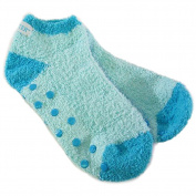 Bath Accessories Socks Essential Moisture with Jojoba and Lavender Oils, Blue