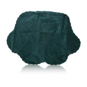 Spa Sister Luxury Inflatable Terry Bath Pillow Forest Green