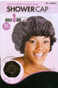 [Magic Collection] 50cm WATER-PROOF SHOWER Cap - Black