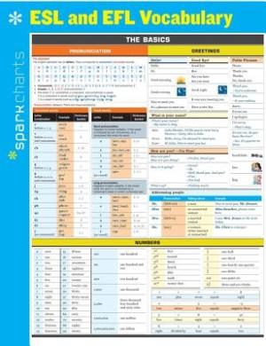 ESL and EFL Vocabulary (Sparkcharts)