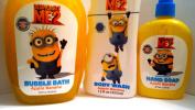 Despicable Me2 Apple Banana Bubble Bath, Body Wash and Hand Soap!