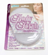 Compac Body Scrub Oval Sponges 5 Ct. Dermatologist Developed Scrubs - Great for the Bath or Shower - Gentle Enough for Almost Any Skin