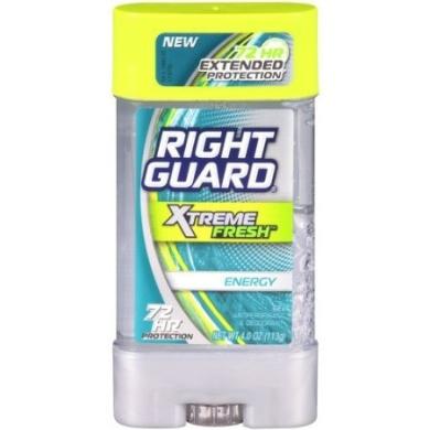 NEW Right Guard Xtreme Fresh Energy Gel Antiperspirant & Deodorant 120ml