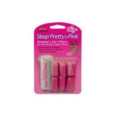 Sleep Pretty in Pink Women's Ear Plugs, 7-Pair (Pack of 3)