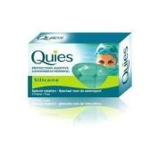 QUIES SILICONE EAR PLUGS 3 PAIR
