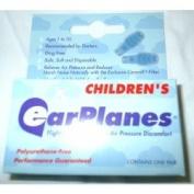 Earplanes Pain Reliever Earplugs Children's Size