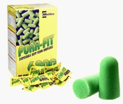 C.R. LAURENCE ES986 CRL Disposable Foam Ear Plugs