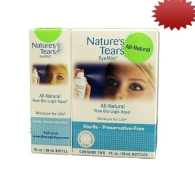 Natures Tears EyeMist - All Natural Mega Value Set (Pack of 3)