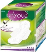 Unyque Extrafine Sanitary Pads - Super x10