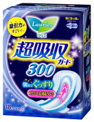Kao Laurier Speed+ Ultra-Absorbent Guard 300mm - 18 pads