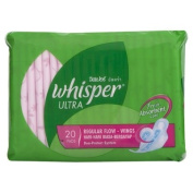 Whisper Pads Ultra Regular Flow Wing 20pcs.