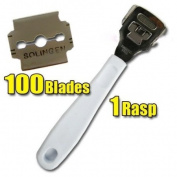 1pc Callus Remover + 100 blades CODE