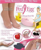 Limited Edition PedEgg Ped Egg Foot File- Pink