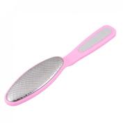Rosallini Pink Dead Skin Callous Corn Removal Foot File Rasp Massage Beauty Kit
