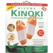 11 Boxes of 10 Cleansing Detox Foot Pads Patches (110) KINOKI *As Seen On TV