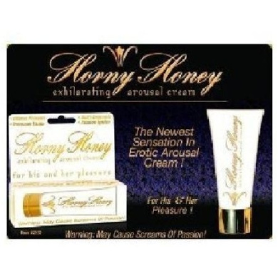 Hott Products Horny Honey Exhilarating Arousal Cream, 30ml