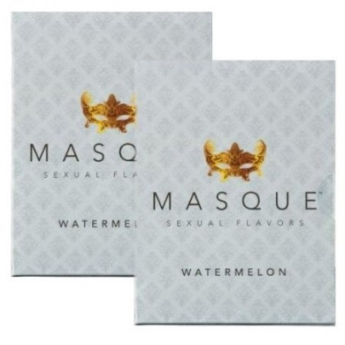 Masque Watermelon Sexual Flavours Singles Wallet - Total of 6 Strips