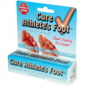 Cure Athletes Foot Ringworm Jock Itch - Maximum Strength All Natural Organic