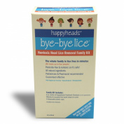 Happyheads® Bye-Bye Lice® Family Treatment Box Kit
