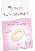 Carnation Bunion Pads 4 Oval Pads