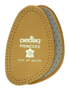 Pedag 101 Princess Cushioning Leather Half Forefoot Insole, Tan