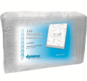 Dynarex #1340 Underpads, 43cm x 60cm . Economy Tissue Fill, 100ct