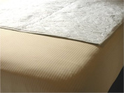 Quilted Waterproof Mattress Overlay Pad - 90cm x 90cm