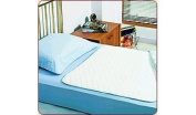 Quilted Waterproof Mattress Overlay Pad - Extra Large Flat 90cm x 180cm