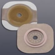 New Image FlexWear Flat Skin Barrier with Tape Border, Box of 5
