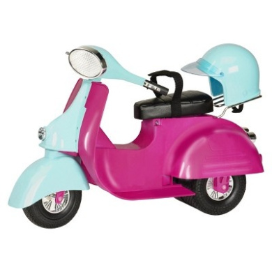 Our Generation Ride in Style Scooter - Fuchsia