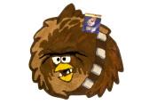 License Angry Birds Star Wars Bath Rug - Brown
