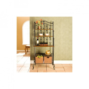 Saint Pierre Bakers Rack - Black