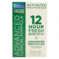 Smart Mouth Advanced Clinical Formula Activated Mouthwash Fresh Mint - 470ml