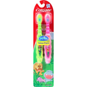 Colgate Kids My First Colgate Toothbrush 2ct - Colors may Vary