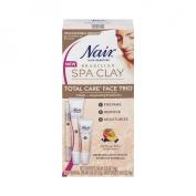 Nair Spa Clay Trio Face Hair Removal Treatment