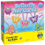 Creativity for Kids Butterfly Necklace Kit by Faber Castell USA Inc.